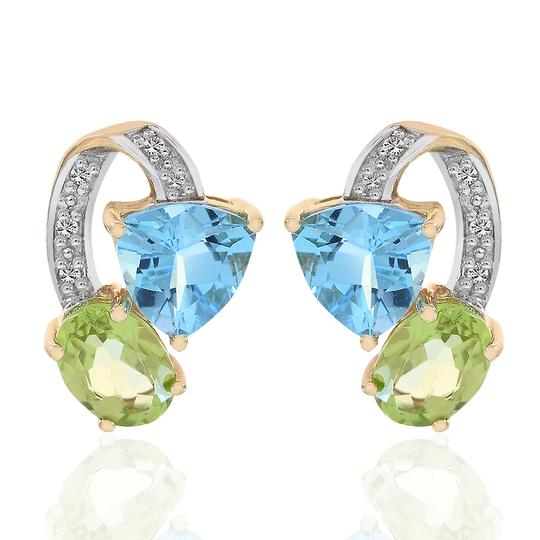 Preload https://img-static.tradesy.com/item/19417647/avital-and-co-jewelry-10k-yellow-gold-200-carat-colored-gemstone-diamond-stud-earrings-0-2-540-540.jpg