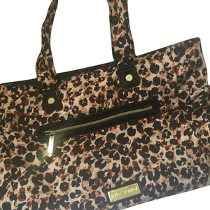 Betsey Johnson Brown, Black Diaper Bag