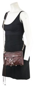 Rebecca Minkoff Leather Handbag Messenger Cross Body Bag