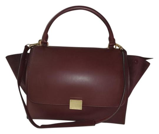 Preload https://img-static.tradesy.com/item/19417824/celine-trapeze-bagw-long-strap-excellent-condition-brown-leather-suede-shoulder-bag-0-1-540-540.jpg