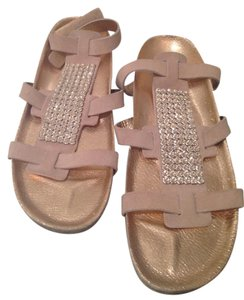 Pedro Garcia Jewels Sandal Strappy Tan Sandals
