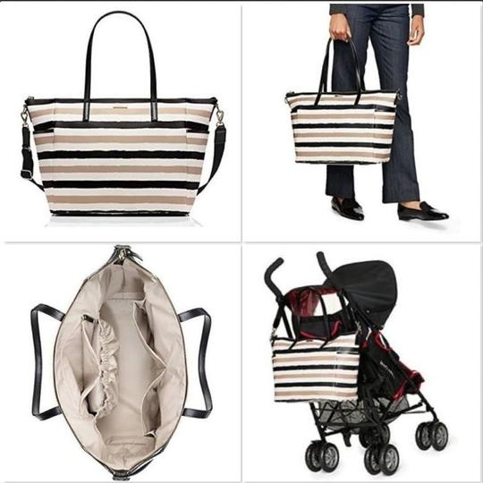 Preload https://img-static.tradesy.com/item/19417881/kate-spade-grant-street-grainy-adair-black-cream-vinyl-diaper-bag-0-1-540-540.jpg