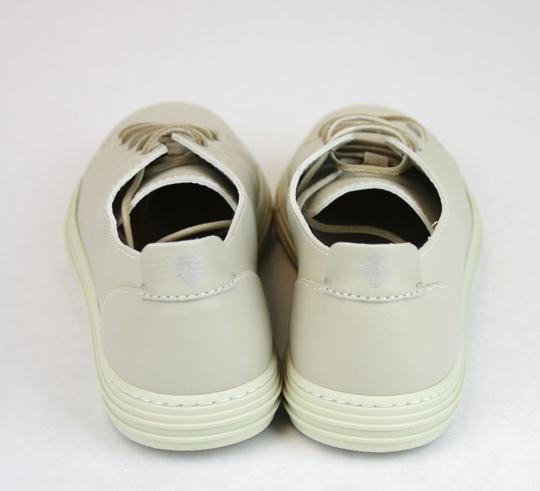 Gucci White 9022 Men's Leather Lace-up Sneaker 342038 Size 7.5 G/Us 8 Shoes