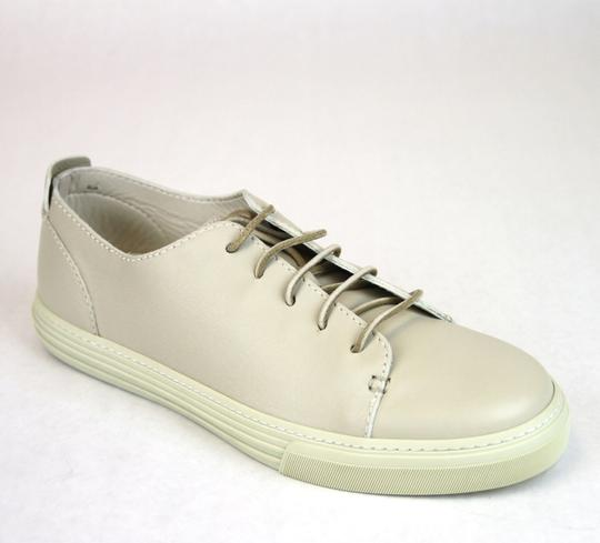 Gucci White 9022 Men's Leather Lace-up Sneaker 342038 Size 8 G/Us 8.5 Shoes