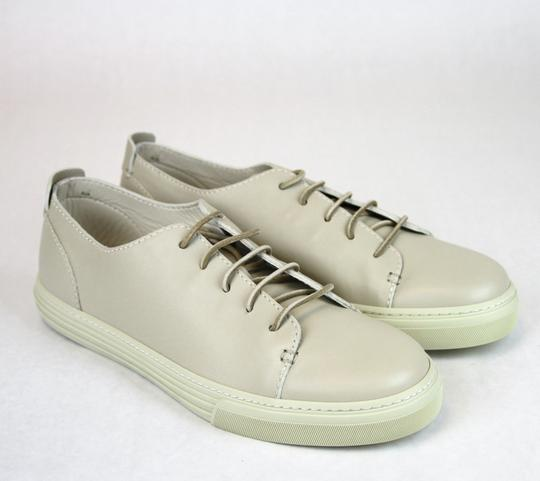 Gucci White 9022 Men's Leather Lace-up Sneaker 342038 Size 8.5 G/Us 9 Shoes
