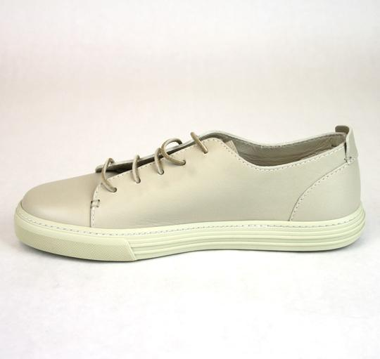 Gucci White 9022 Men's Leather Lace-up Sneaker 342038 Size 10 G/Us 10.5 Shoes