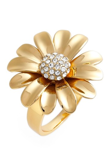 Preload https://img-static.tradesy.com/item/19417946/kate-spade-gold-dazzling-daisies-statement-ring-0-0-540-540.jpg