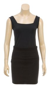 Donna Karan Mini Skirt Black