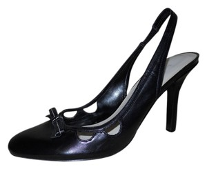 Enzo Angiolini Leather Mbc black Pumps