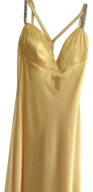 Item - Yellow Long Formal Dress Size 8 (M)