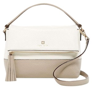 Kate Spade Satchel in Tan/white