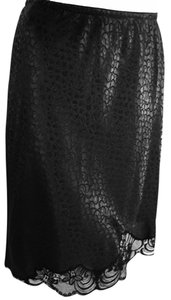 Dior Christian Skirt Black