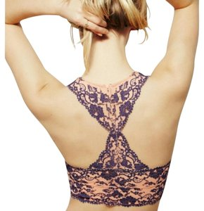 Free People Free People Galloon wild roses Lace Bralette
