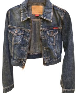 Guess By Marciano Womens Jean Jacket