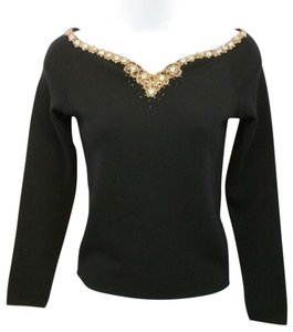 Blumarine Black Knit Top