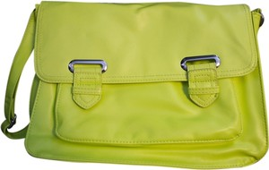 Mondani Neon Yellow Messenger Bag