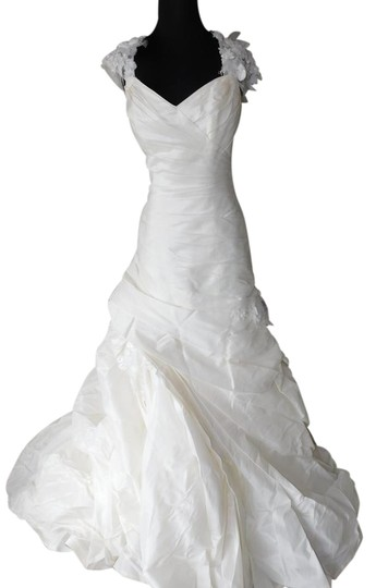 Maggie Sottero Ivory Alaura Wedding Dress Size 10 (M)