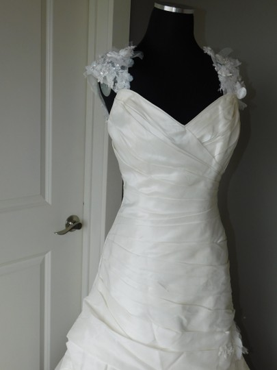 Maggie Sottero Ivory Alaura Dress Size 10 (M)