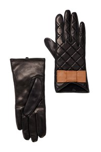 Kate Spade REDUCED, Signature Quilted Genuine Leather Gloves