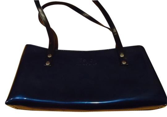 Preload https://item2.tradesy.com/images/beijo-navy-blue-shiney-patent-not-real-leather-baguette-1942341-0-1.jpg?width=440&height=440