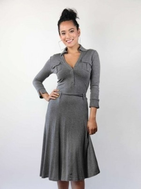 Preload https://item2.tradesy.com/images/club-monaco-grey-knee-length-workoffice-dress-size-2-xs-194236-0-0.jpg?width=400&height=650