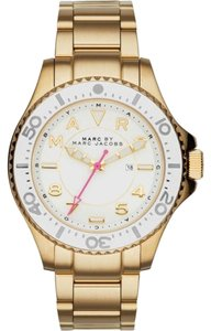 Marc by Marc Jacobs Marc Jacobs Women's Dizz Sport Gold-Tone Stainless Steel Watch MBM3408