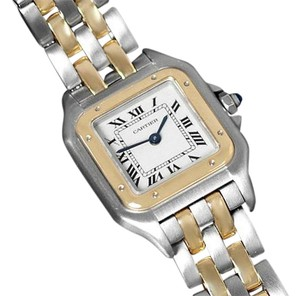 Cartier Cartier Panthere Panther Ladies Watch, Ref. 1120 SS & 18K Gold W25028B