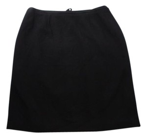 Talbots Wool Pencil Size 14wp Skirt BLACK