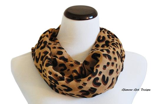 Other Leopard Animal Print Scarf