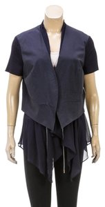 Brunello Cucinelli Navy Blue Womens Jean Jacket