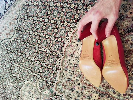 Cacharel red Pumps