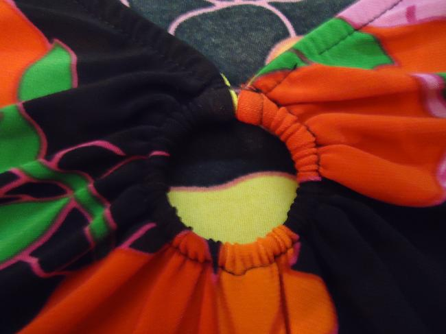 Other T Shirt Multi Colored Black Red Orange Yellow Blue Green