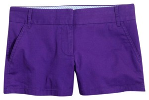 J.Crew Mini/Short Shorts Purple Thistle