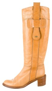 Chloé Paddington Riding Tan Boots