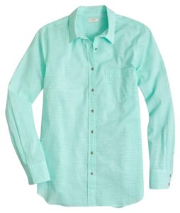 J.Crew Button Down Shirt Vivid Spearmint