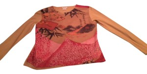 Pierre Cardin Size Large Top Tan