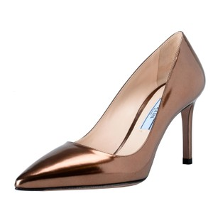 Prada BronzeBronze Pumps