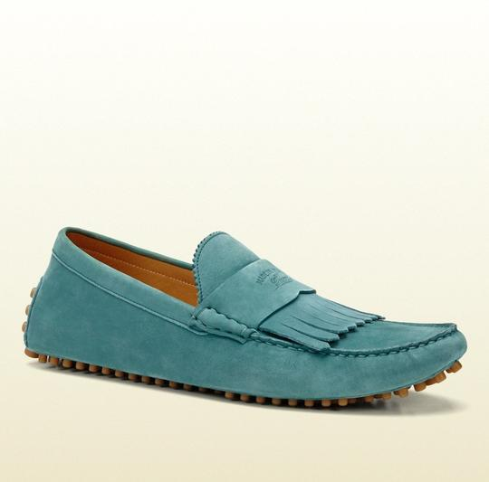 Preload https://img-static.tradesy.com/item/19424454/gucci-teal-men-s-suede-fringe-moccasin-loafer-337066-size-125-gus-13-shoes-0-0-540-540.jpg