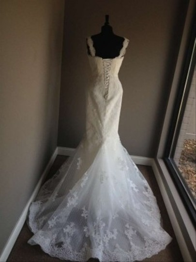 Pronovias Off White Lace Felicia Dress Size 10 (M)
