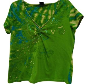 Tco T Shirt Lime Green