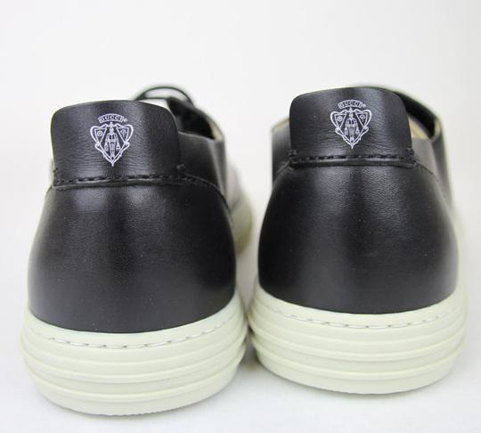 Gucci Black Hysteria Men's Leather Lace-up W/Hysteria Crest 342037 Size 11.5 G/Us 12 Shoes