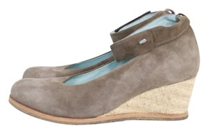 Wolky Suede Esparilles Wedges