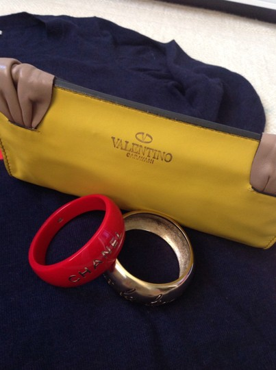 Valentino Must Have Yellow Clutch