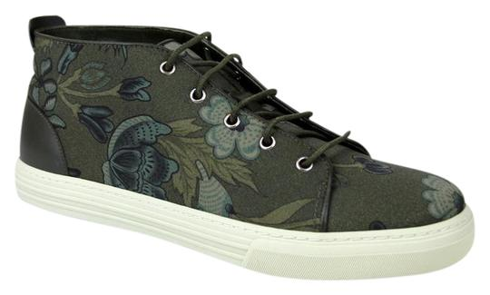 Preload https://img-static.tradesy.com/item/19424716/gucci-green-3364-mens-floral-fabric-lace-up-sneaker-342048-size-95-gus-10-shoes-0-2-540-540.jpg