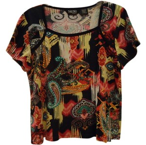 T Shirt Black Multi