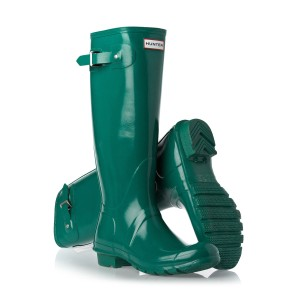 Hunter Rainboot Wellies Lagoon Boots