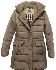 Burberry Detachable Hood Goose Down Coat