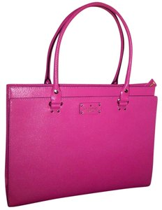 Kate Spade Very Stylish Leather Satchel in Pink