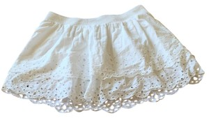 American Eagle Outfitters Mini Skirt White