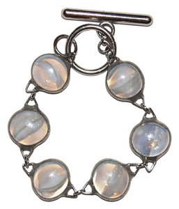Other Round Glass Toggle Bracelet
